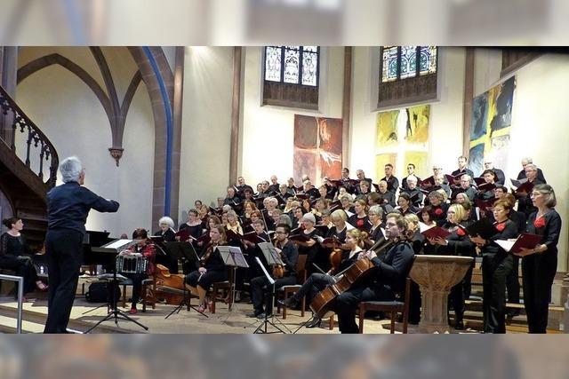 Figuralchor Offenburg führt zum 50-jährigen Jubiläum Haydns