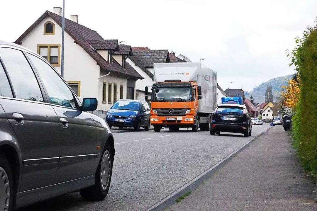 In Kuhbach und Reichenbach wird es auf...ng. Ist eine Ortsumfahrung die Lösung?  | Foto: Susanne Gilg