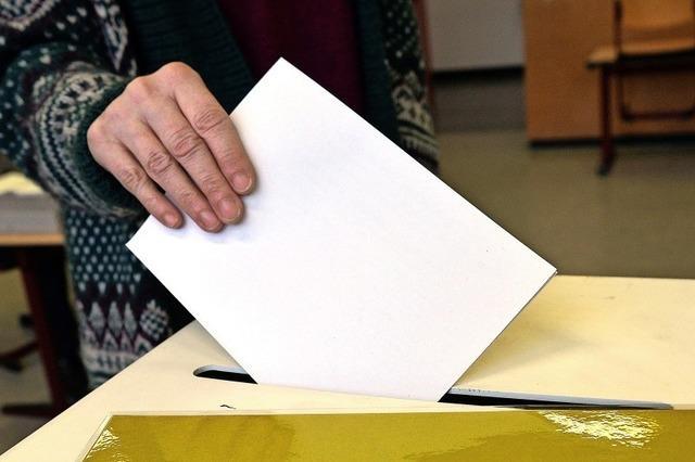 13 795 Wahlberechtigte am Sonntag