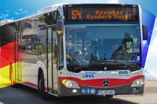 Mit dem Regiobus zum Flughafen