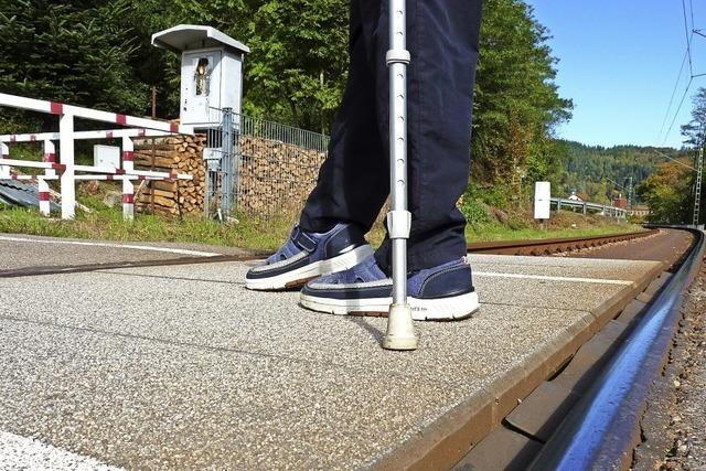 Bahnübergang soll sicherer werden