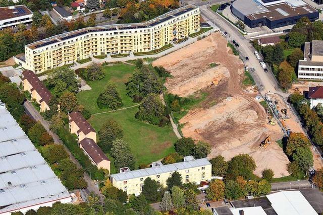 Freiburger Stadtbau testet Holz- und konventionelle Bauart