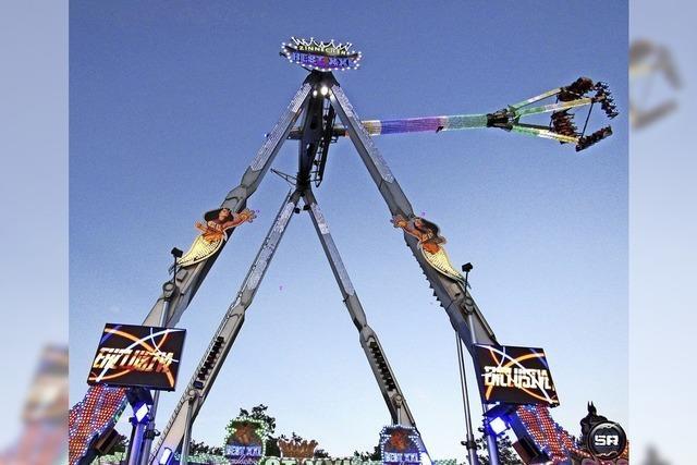 45 Meter hohe Kilbig-Attraktion