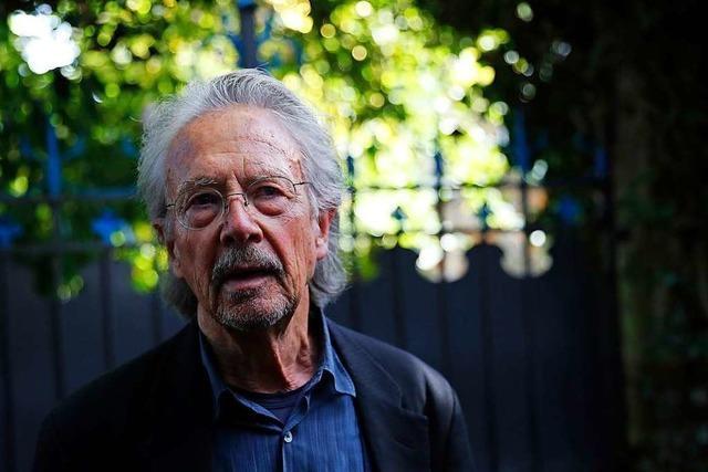 Schwedische Akademie stellt sich hinter Peter Handke