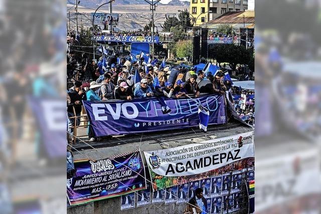 Kommt es zur bürgerlichen Wende in Bolivien?
