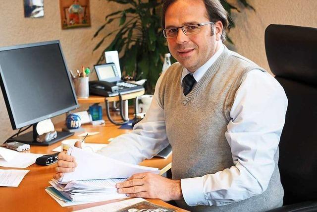 Schuttertals Bürgermeister Carsten Gabbert hört auf
