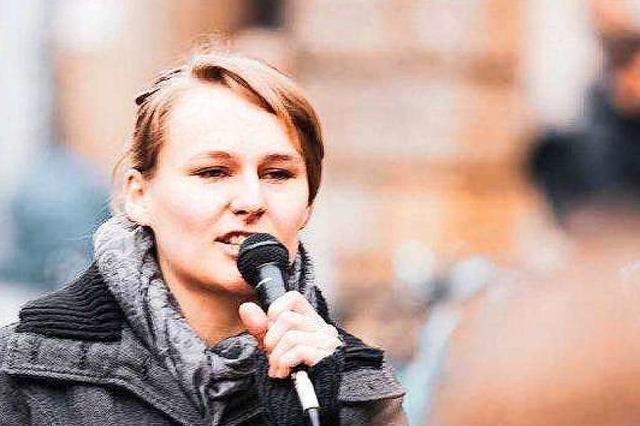 Die gebürtige Lörracherin Laura Wahl will am Sonntag in den Thüringer Landtag einziehen