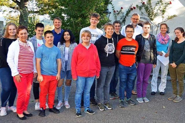 In der Akademie Himmelreich starten neue Kursteilnehmer in die Berufsqualifizierung