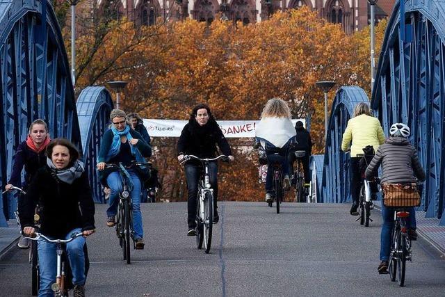 Wie sollen die mehr als fünf Millionen Euro für Freiburgs Radwege verwendet werden?