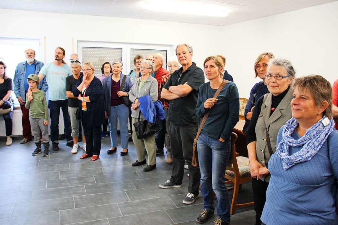 Die Flüchtlingsunterkunft öffnete ihre Türen für alle interessierten Besucher.    Foto: Mario Schöneberg