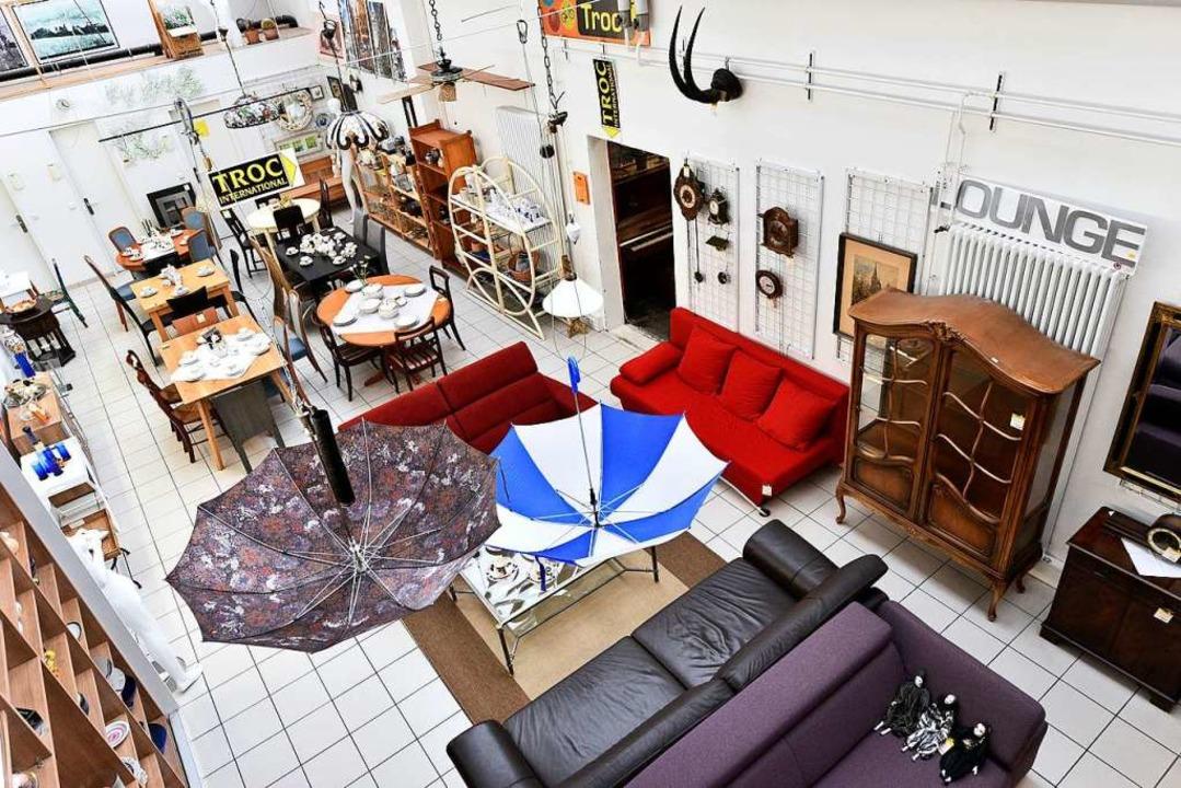 Troc in Mooswald verkauft Erstklassige...1; für anspruchsvolle Flohmarktgänger.  | Foto: Thomas Kunz
