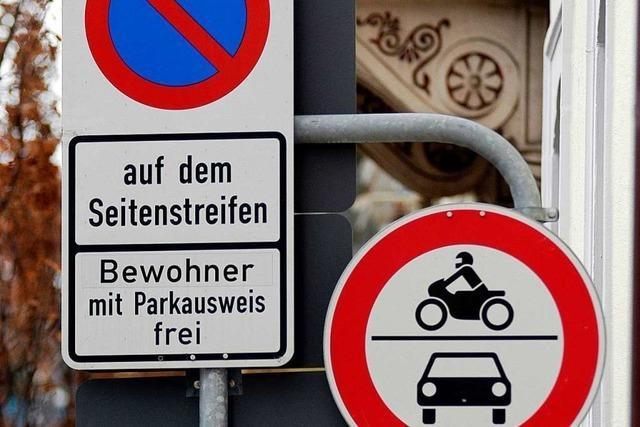 In weiteren Freiburger Quartieren soll das Bewohnerparken kommen