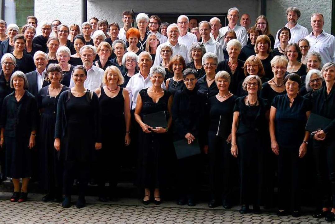 Die Freiburger Kantorei tritt am Sonntag in der Ludwigskirche in Freiburg auf.  | Foto: Pro