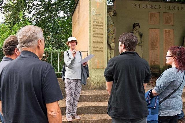 Stadtrundgang erinnert an Widerstand in Kollnau gegen den Nationalsozialismus