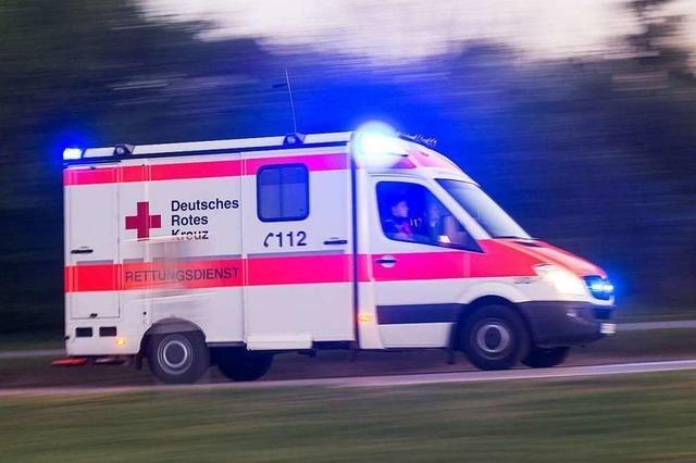 Radler bei Kollision in Haslach schwer verletzt