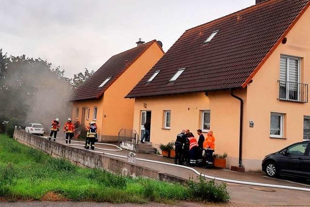 Defekter Wäschetrockner verursacht Brand in Gündlingen
