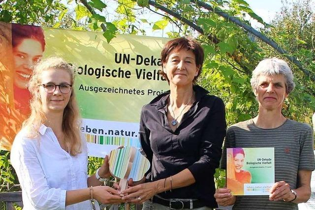 Projekt der Stiftung Kaiserstühler Garten von Vereinten Nationen ausgezeichnet