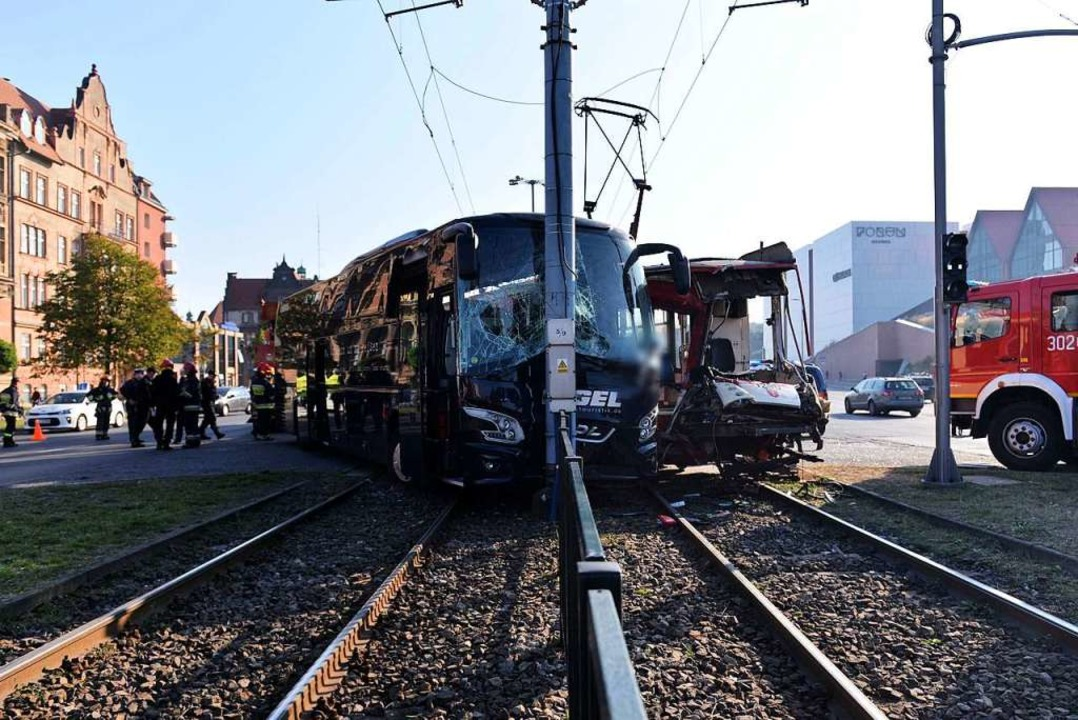 Der Unfall ereignete sich am 26. September in Danzig.  | Foto: Jan Dzban (dpa)