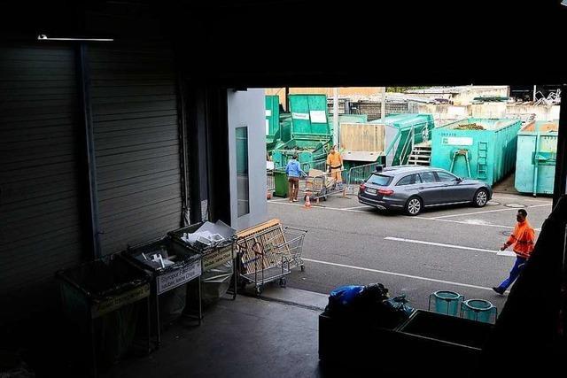 Die Freiburger Abfallwirtschaft plant ein Kaufhaus für Gebrauchtwaren