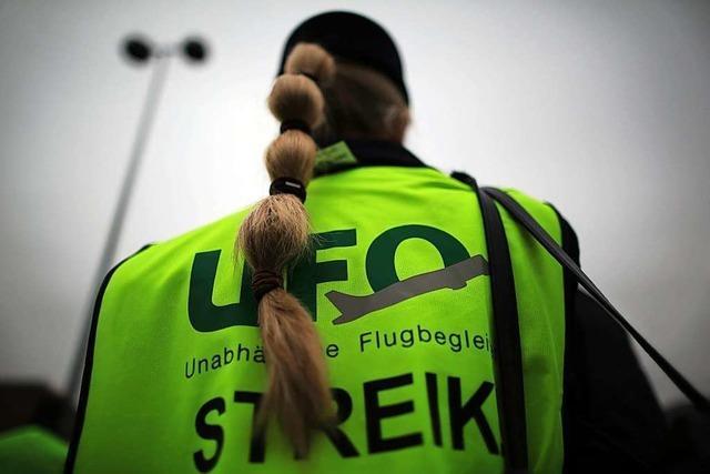 Gewerkschaft Ufo sagt Warnstreik bei Lufthansa kurzfristig ab