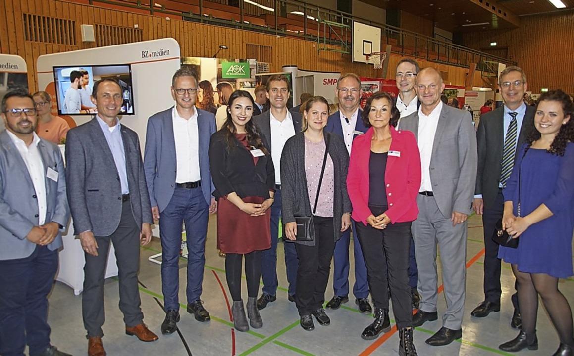 Veranstalter, Sponsoren und Organisato...börse am Donnerstagabend in Endingen.   | Foto: Ilona Huege