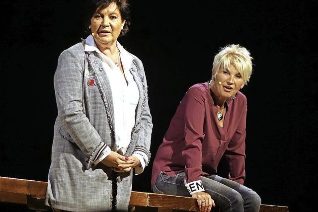 Petra Binder und Doris Reichenauer in Lenzkirch