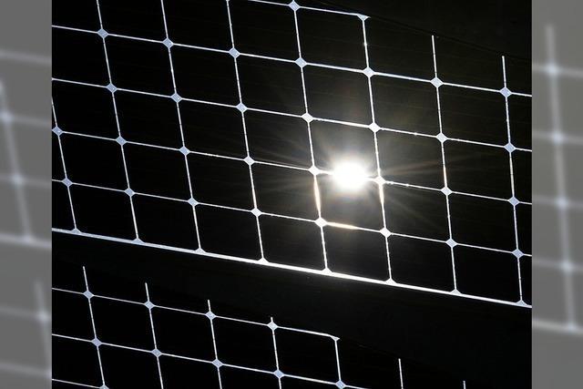 In der Photovoltaik steckt großes Potenzial