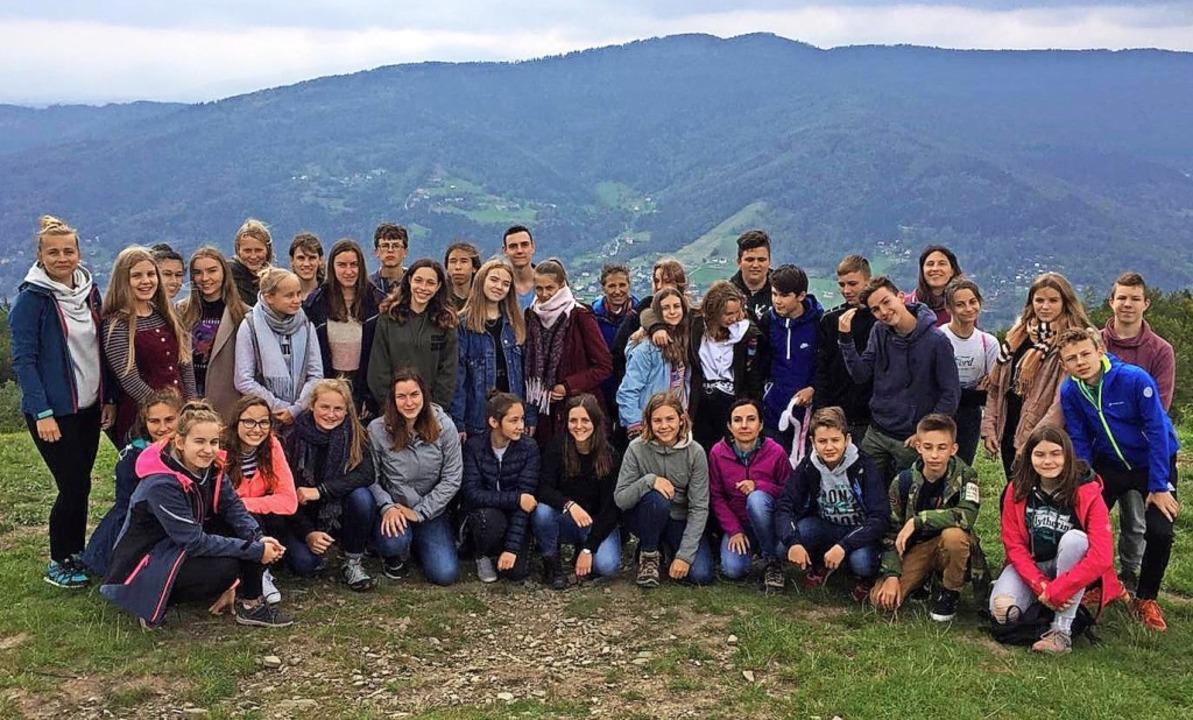 Vielfältige Eindrücke sammelten die Br...sammen mit ihren Gastgebern in Polen.     Foto: Martin-Schongauer-Gymnasium