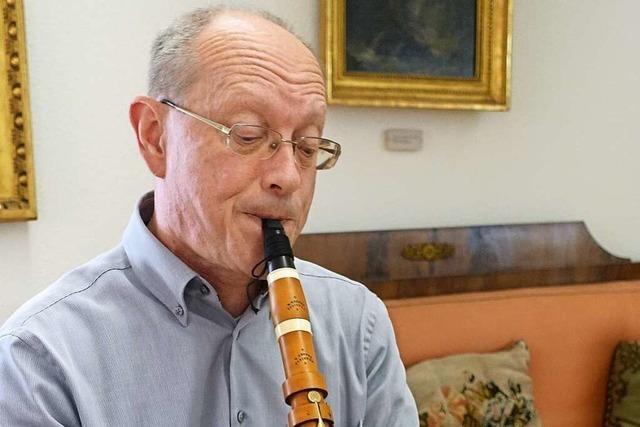 Peter Geisler ist ein Kenner der alten Klarinetten