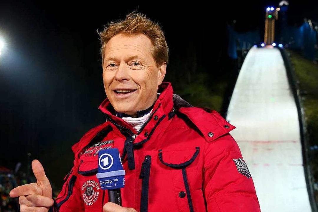 Kompetent und sympathisch vor der Kame... hoch geachteter Experte im Fernsehen.    Foto: Jan Woitas (dpa)