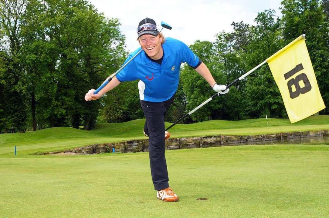 Heute ist Dieter Thoma ein ganz guter ...em Sport Gefahren lauern (siehe Text).  | Foto: Europa-Park