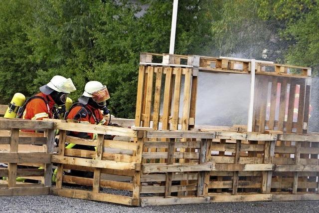 Bernauer Feuerwehr zeigt ihr Können