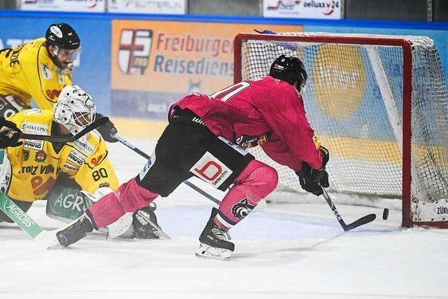 EHC Freiburg besiegt die Löwen aus Bad Tölz zu Hause mit 5:3