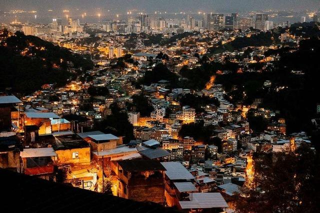 In Rio de Janeiro warnt eine Handy-App vor Schießereien