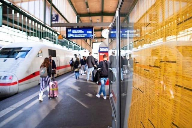 Bauarbeiten verlangen vielen Bahn-Pendlern 2020 Geduld ab