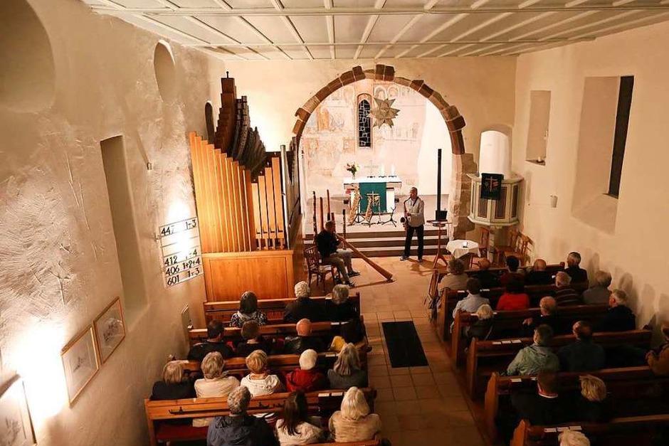 Bei den Klangräumen in Weil treten Musiker an ungewohnten Orten auf. (Foto: Oliver Welti)