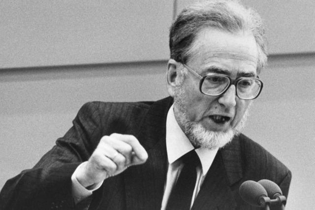SPD-Urgestein Erhard Eppler ist tot