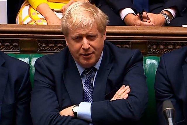 Um drei Uhr hatte Boris Johnson genug vom