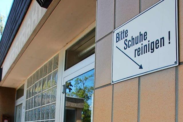 Der SV Weil am Rhein ist wütend, weil sein Sanitärtrakt doch noch nicht saniert wird