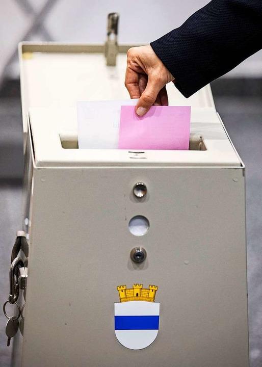 Parlamentswahlen in der Schweiz  | Foto: Alexandra Wey (dpa)