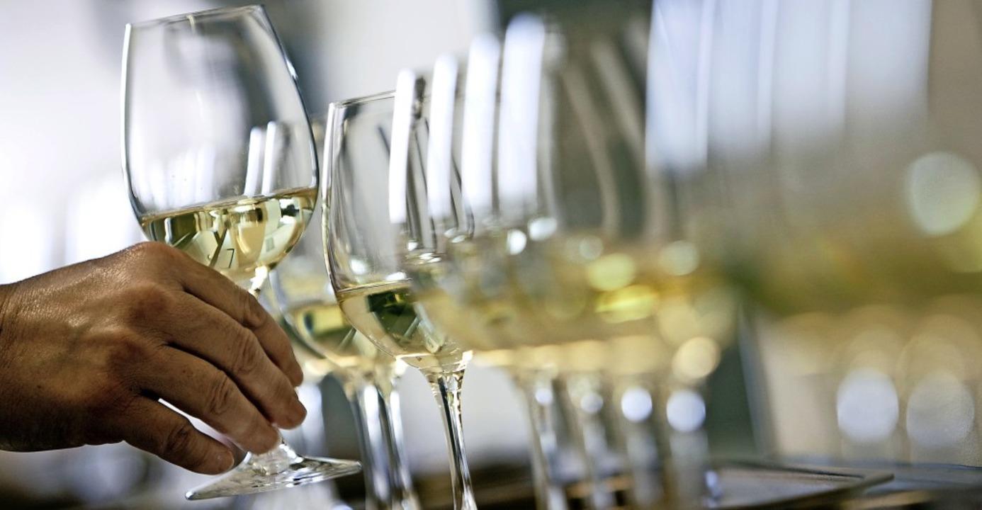 Vor allem Weißweine (Symbolbild)  brac...AWC Vienna jede Menge Edelmetall ein.   | Foto: Frank Rumpenhorst