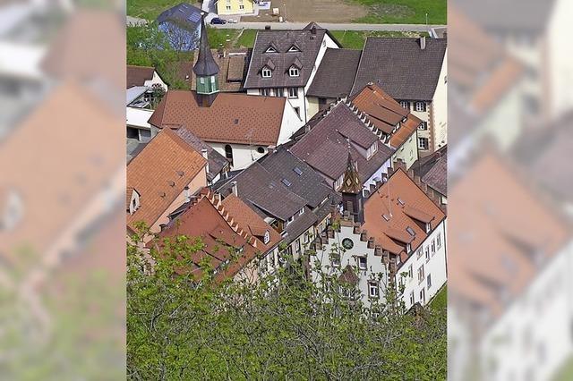 Was das Rathaus von Stühlingen architektonisch so besonders macht