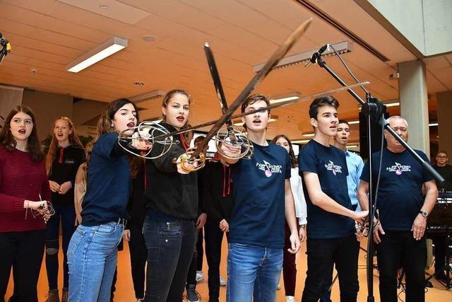 Wie war's beim Festakt zum 50-jährigen Bestehen des Lise-Meitner-Gymnasiums?