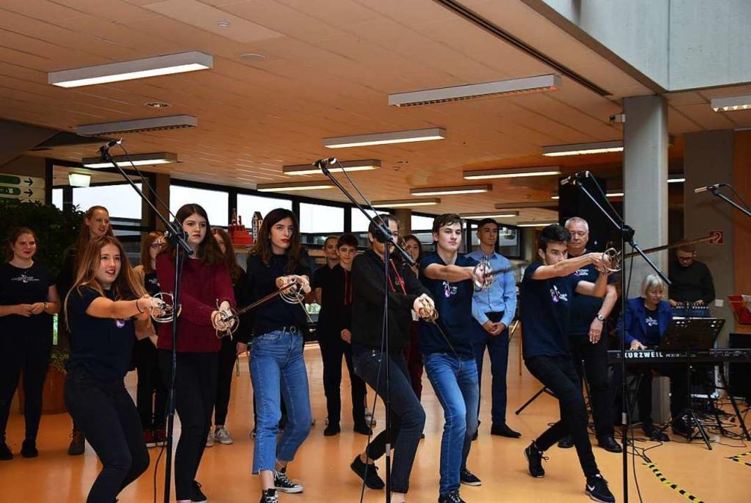 Schüler der Musical-Company  | Foto: Heinz und Monika Vollmar