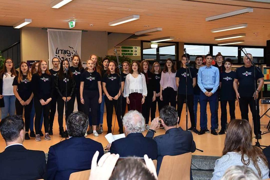 Der Auftritt der Musical Company  | Foto: Heinz und Monika Vollmar