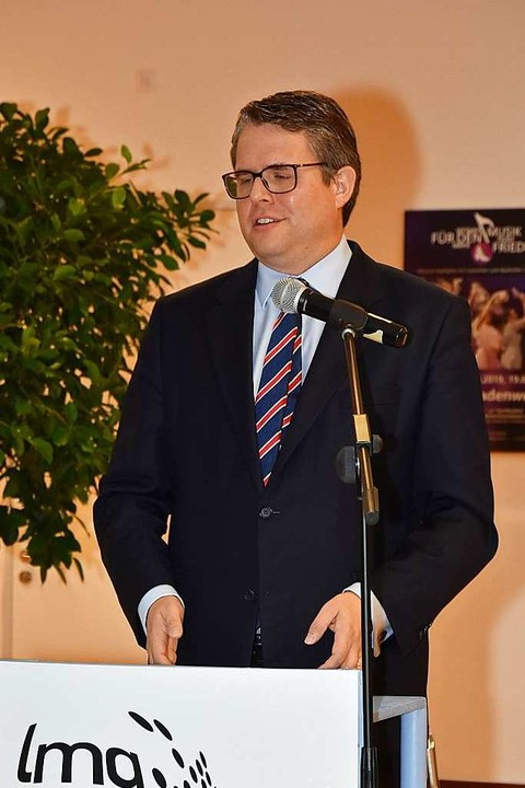 Bürgermeister Tobias Benz  | Foto: Heinz und Monika Vollmar