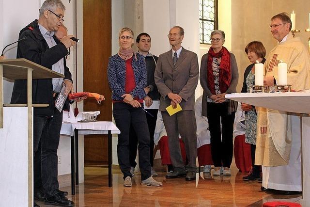 Pfarrer Martin Karl ins Amt eingeführt