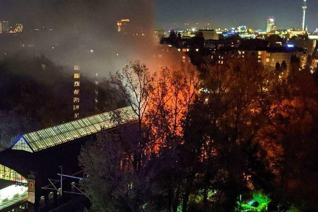 Zwei Fans berichten, wie sie den Brand im SC-Sonderzug in Berlin erlebt haben