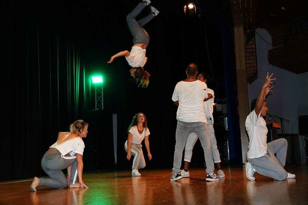 "Atemberaubende Show: Die Breakdancer der ""Body Language Crew""    Foto: hege"