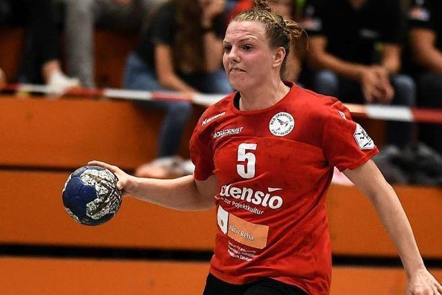 Quirliger Underdog: Die Freiburger HSG-Handballerinnen schlagen sich wacker